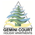 Gemini Court Holiday Apartments Logo